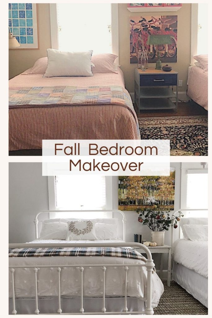 Fall Bedroom Makeover
