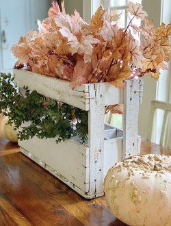 Fall Decor Blush Leaves