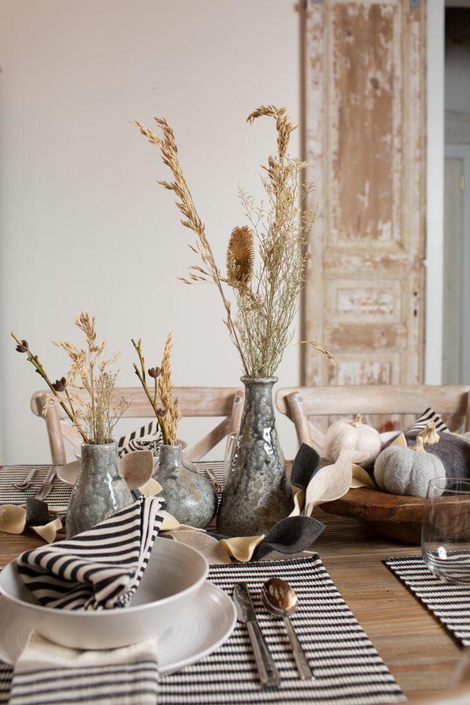 Fall Dining Table Decor Harp design 7