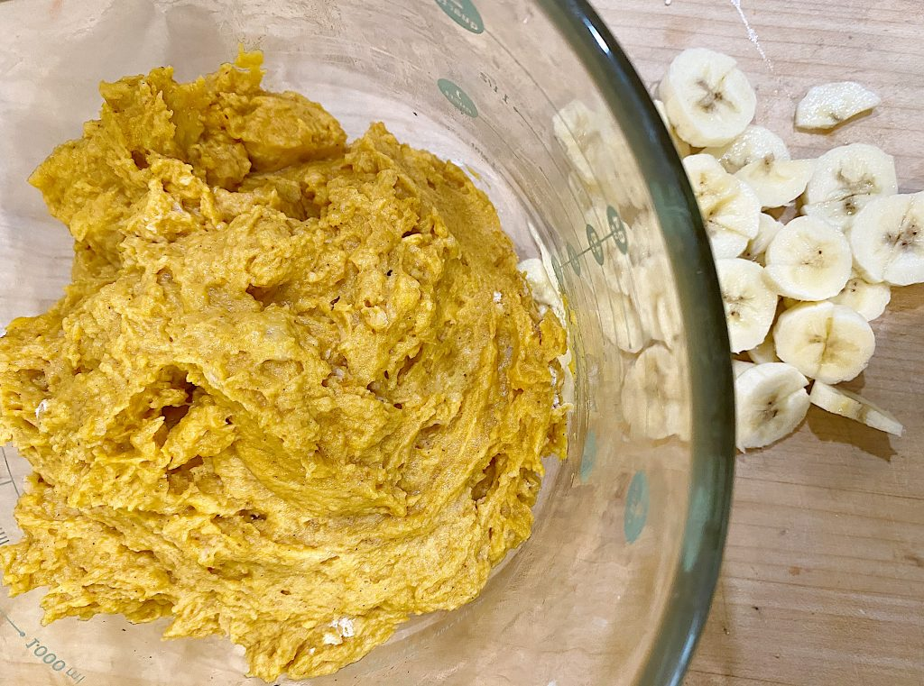 Pumpkin Bread Dough