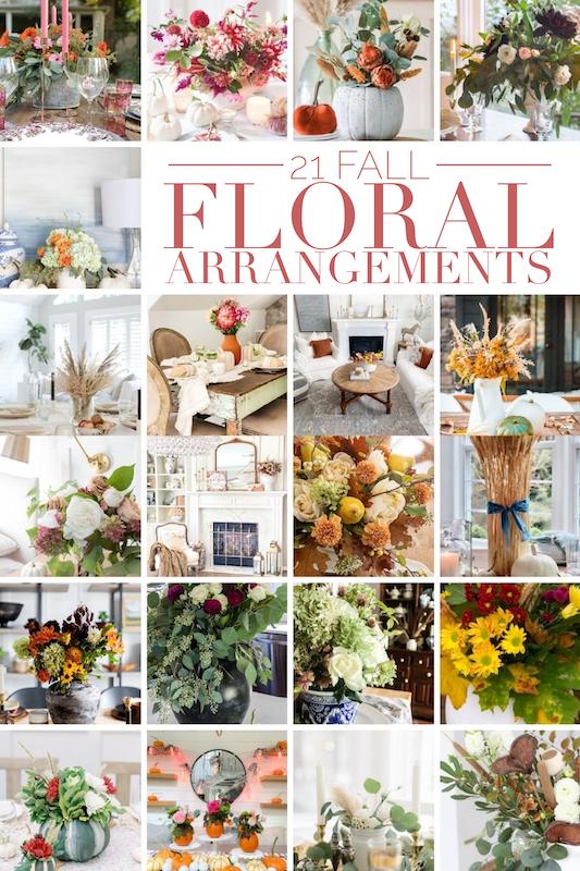 21 Fall Floral Arrangements