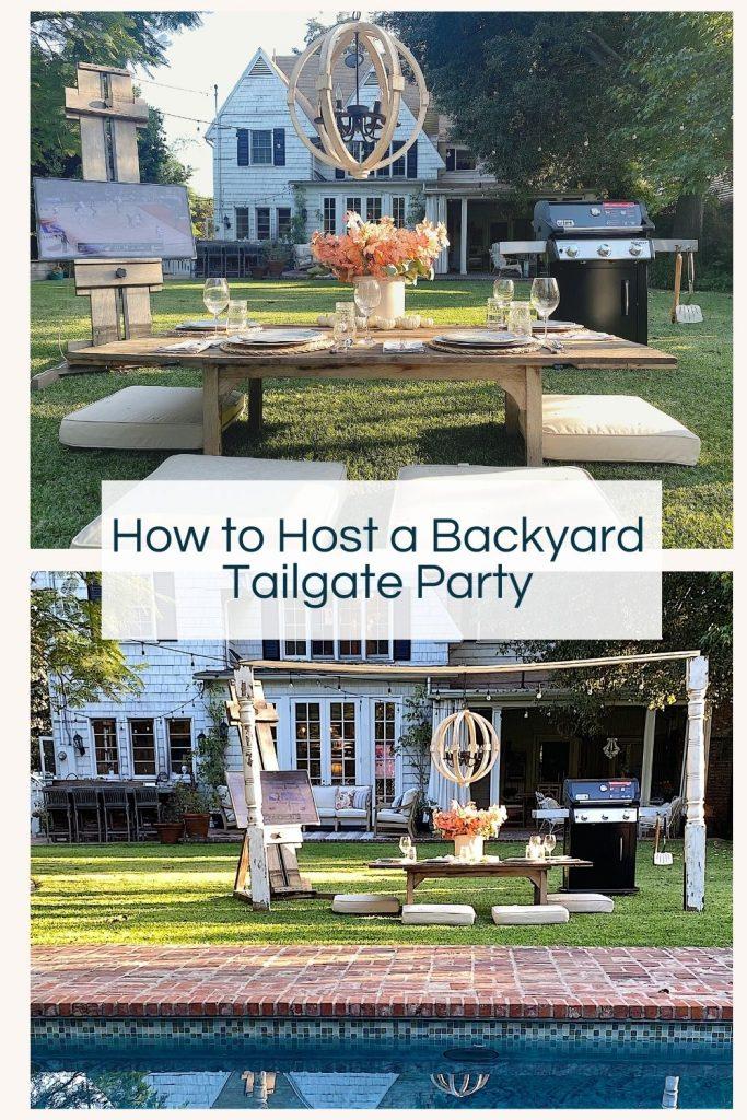 Backyard Tailgate Party