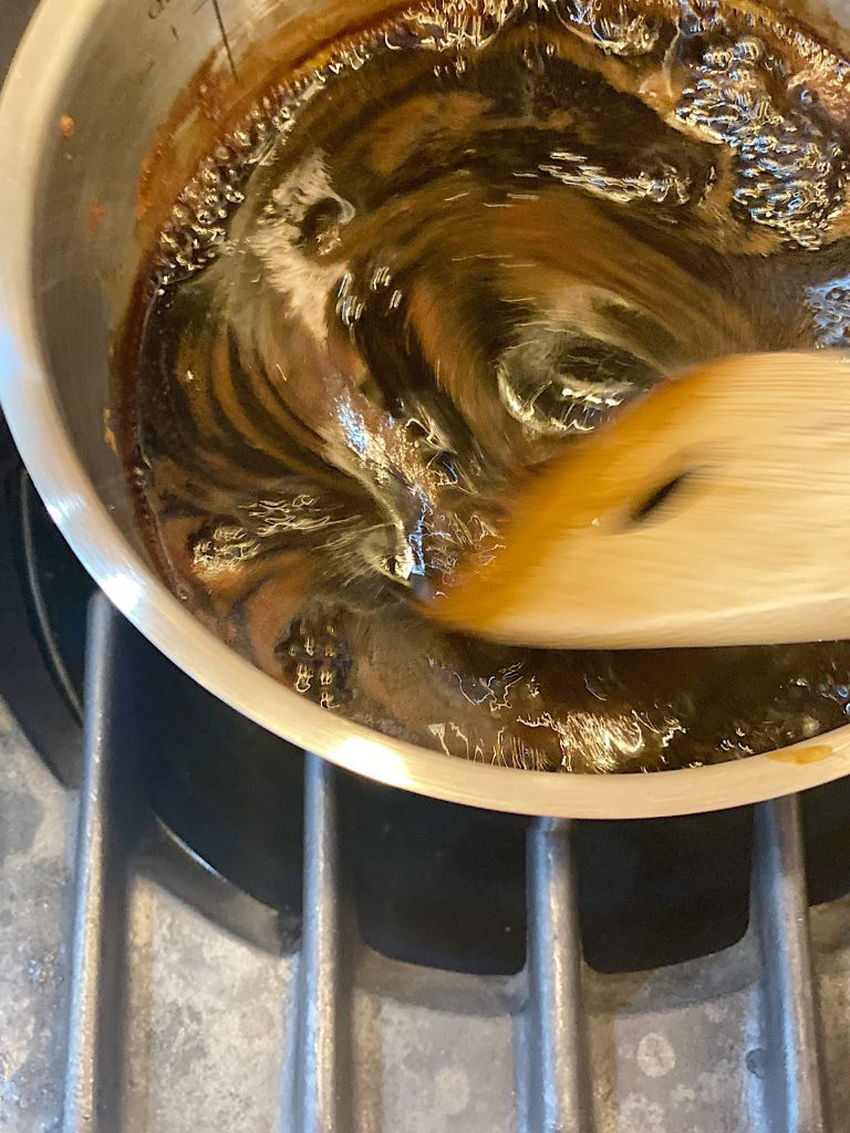 Cook the Maple Soy Ginger Sauce