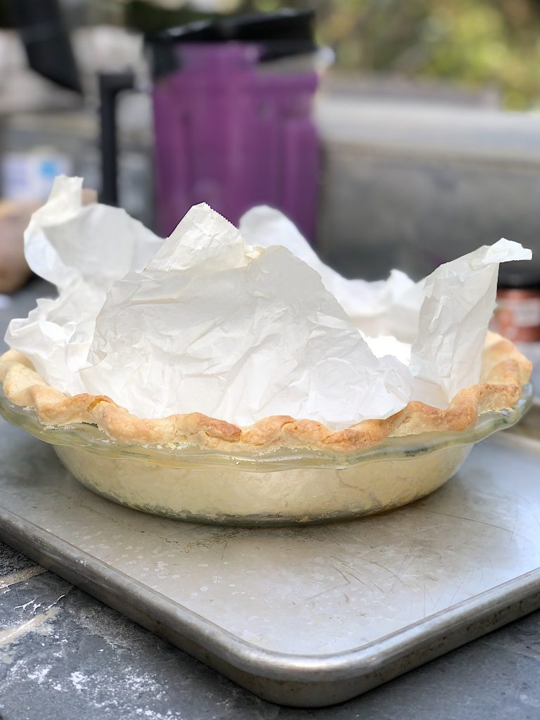 Cooking the Pie Crust