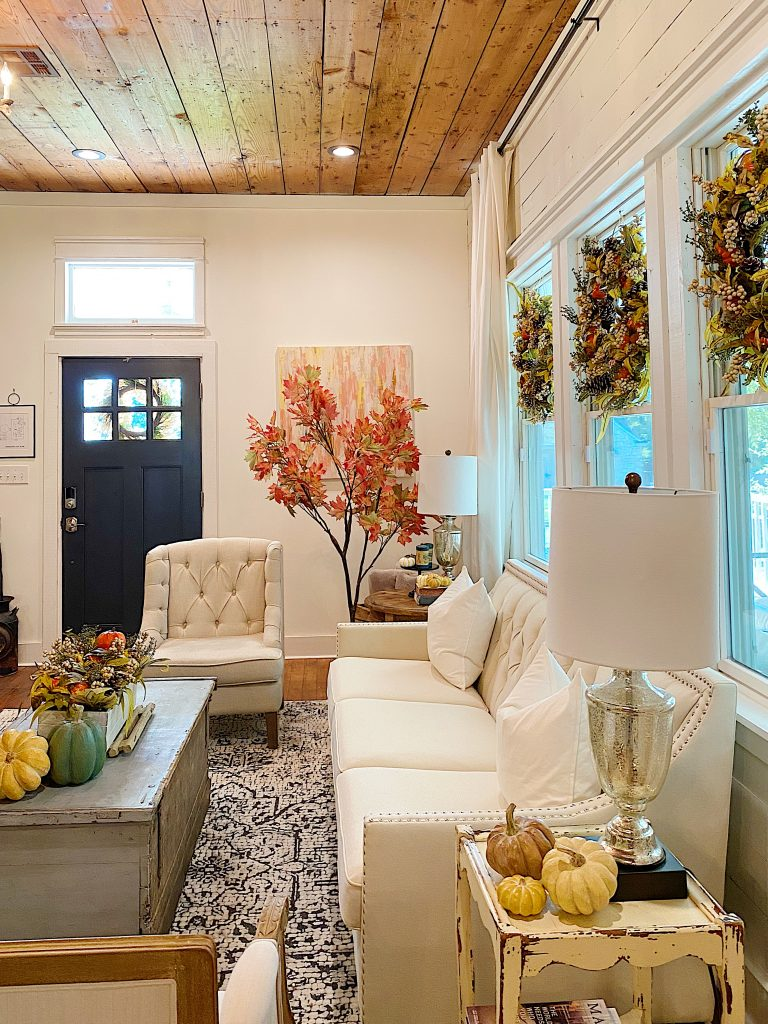 Fall Decor in the Waco Home