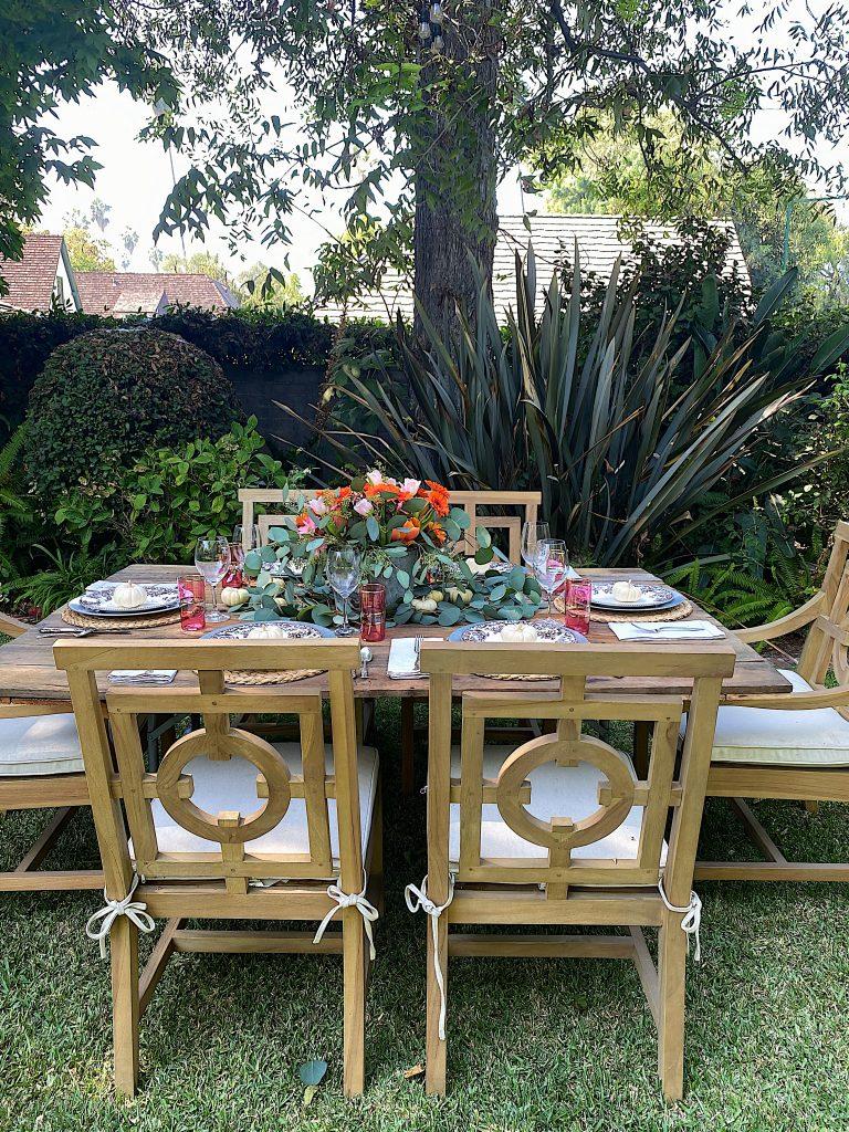 Fall Dinner Setting