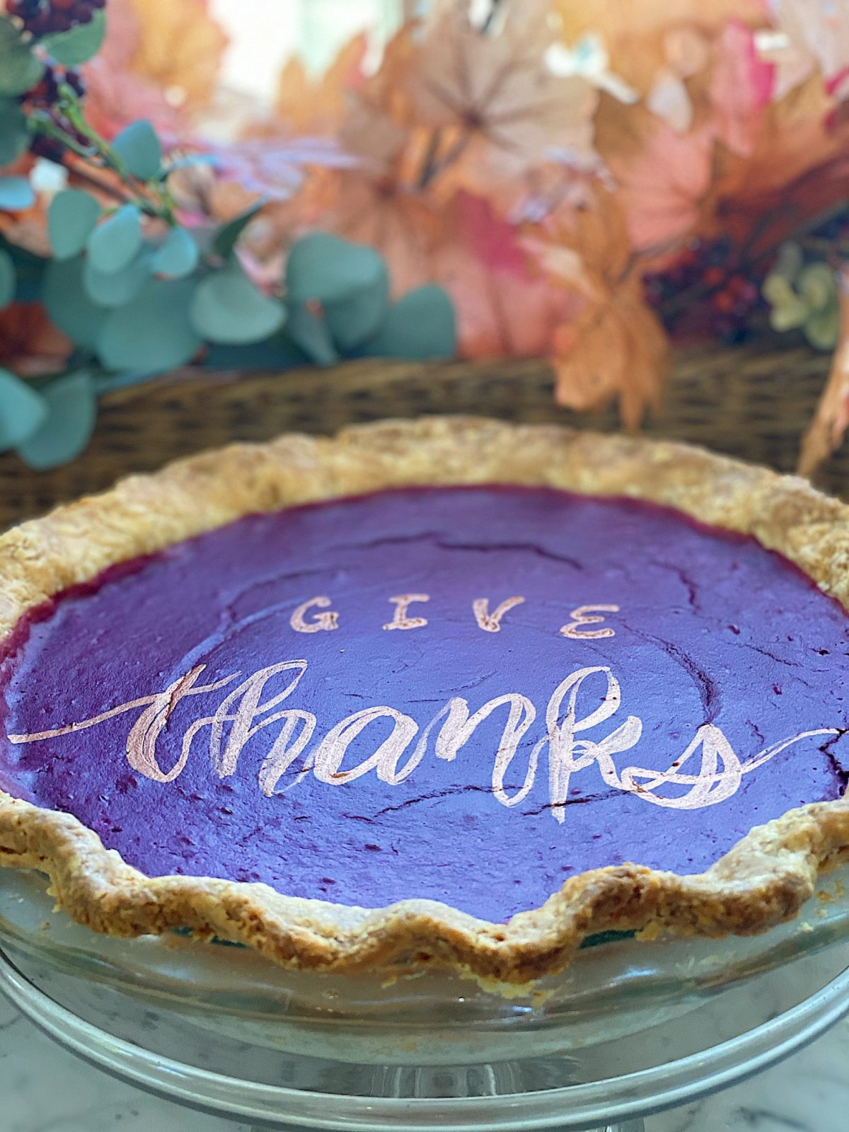 Give Thanks with Sweet Potato Pie