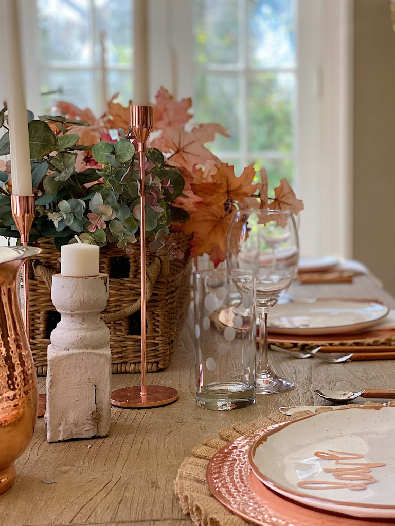 How to Set a Thanksgiving Table 15
