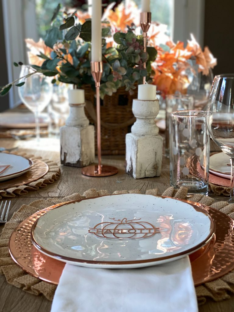 How to Set a Thanksgiving Table 17