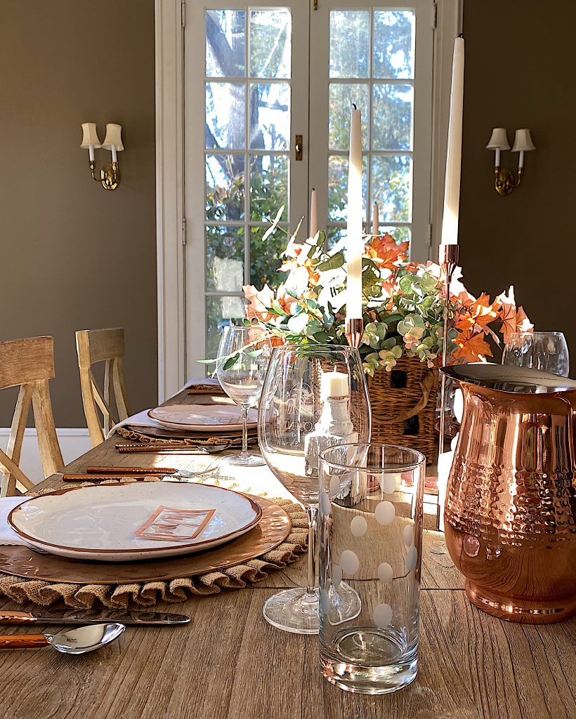 How to Set a Thanksgiving Table 19