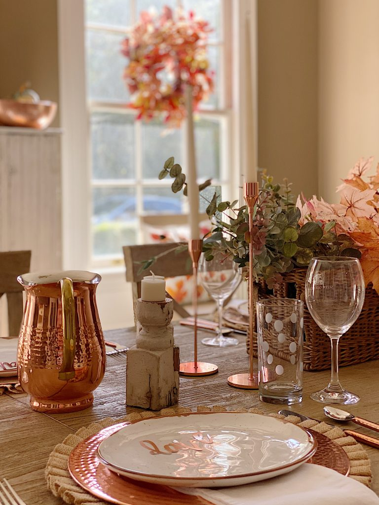 How to Set a Thanksgiving Table 3 6