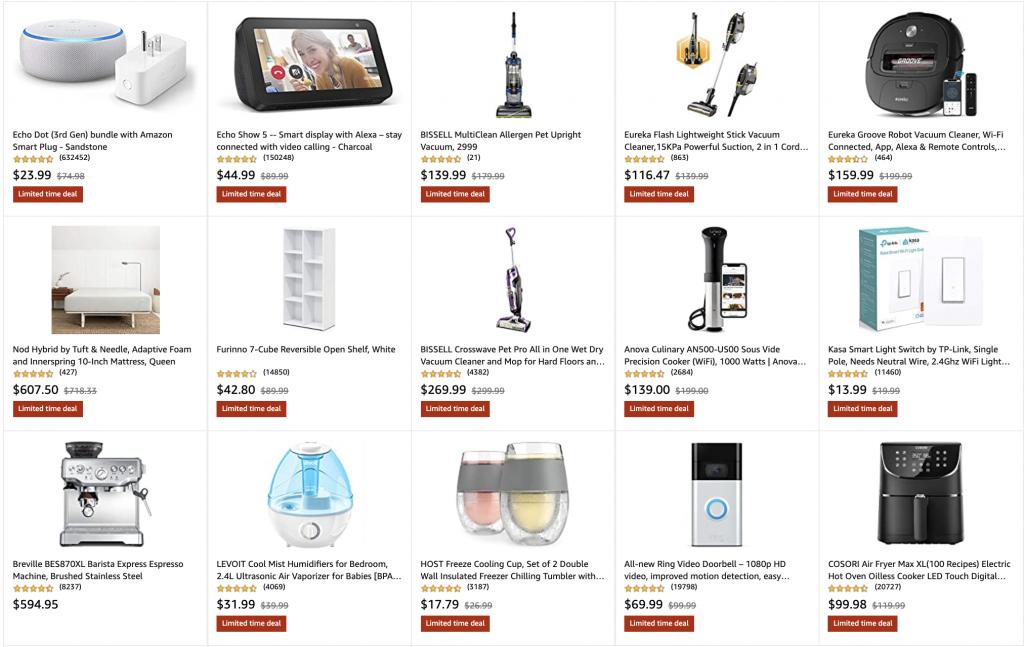 Amazon home Deals