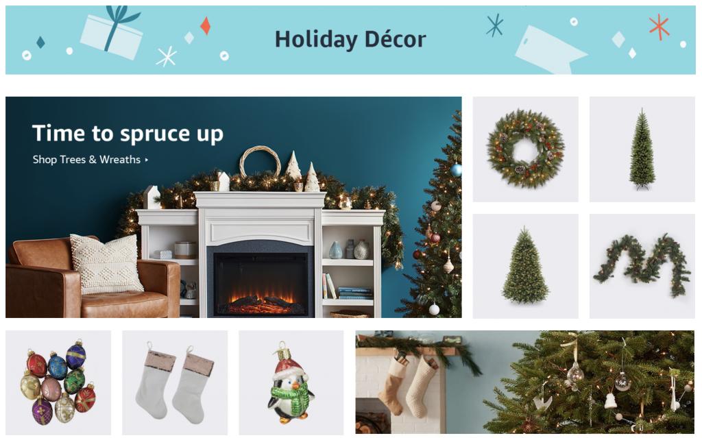 Amazon home holiday decor