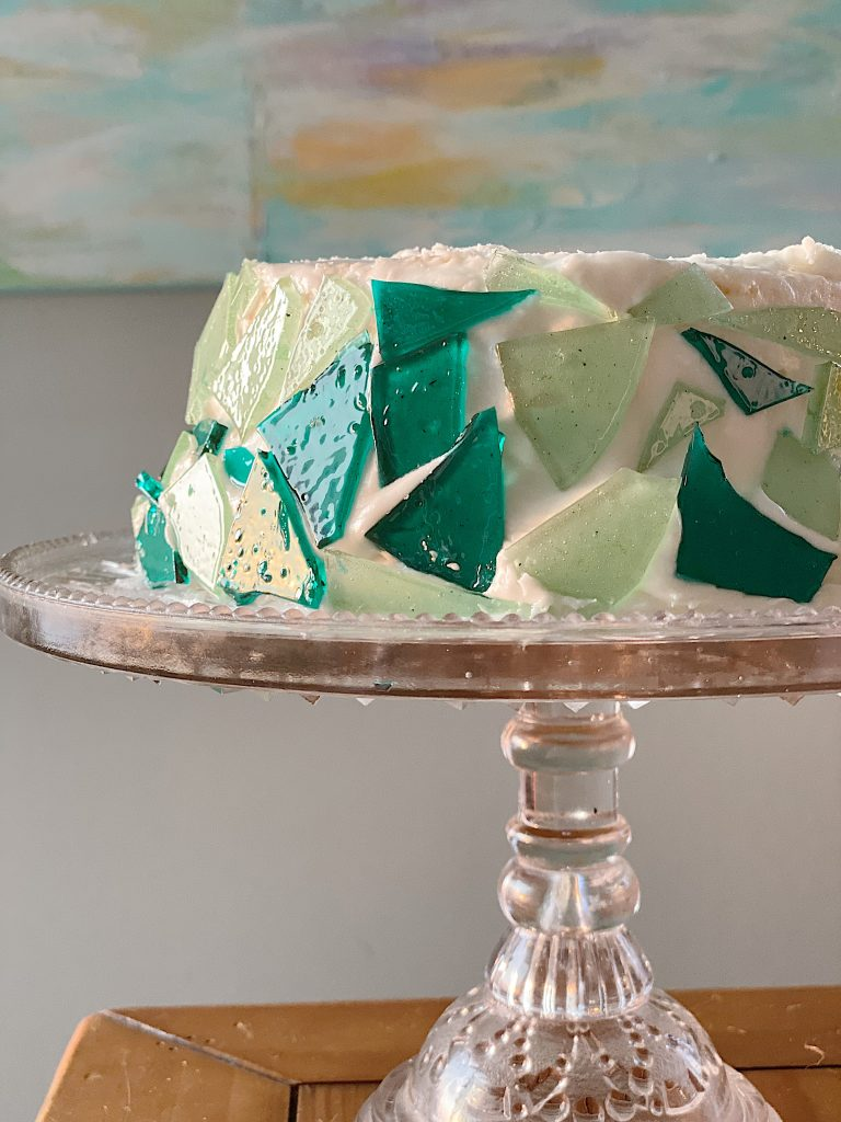 Sea Glass angel Food Cake Recipe