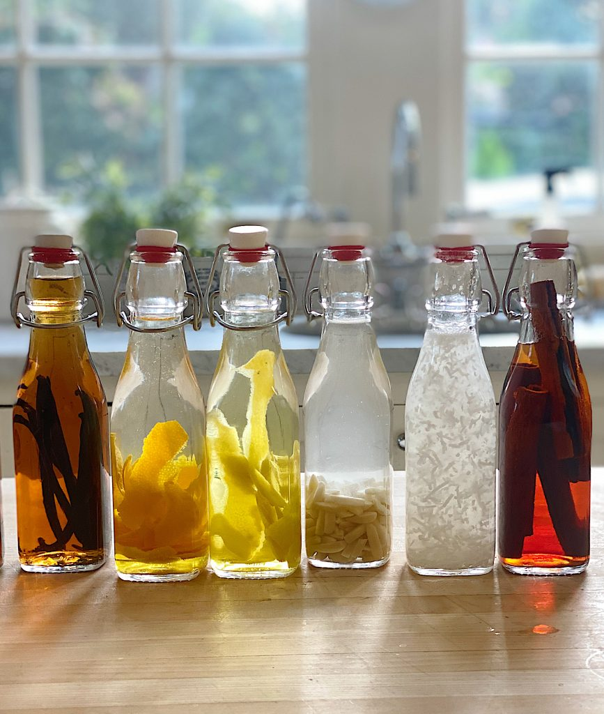 Six Homemade Extracts