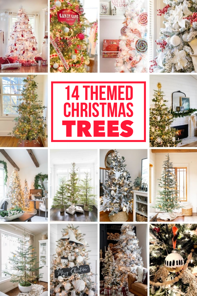 14 themed Christmas Trees