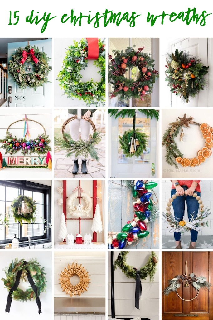 Diy Christmas Wreath My 100 Year Old Home