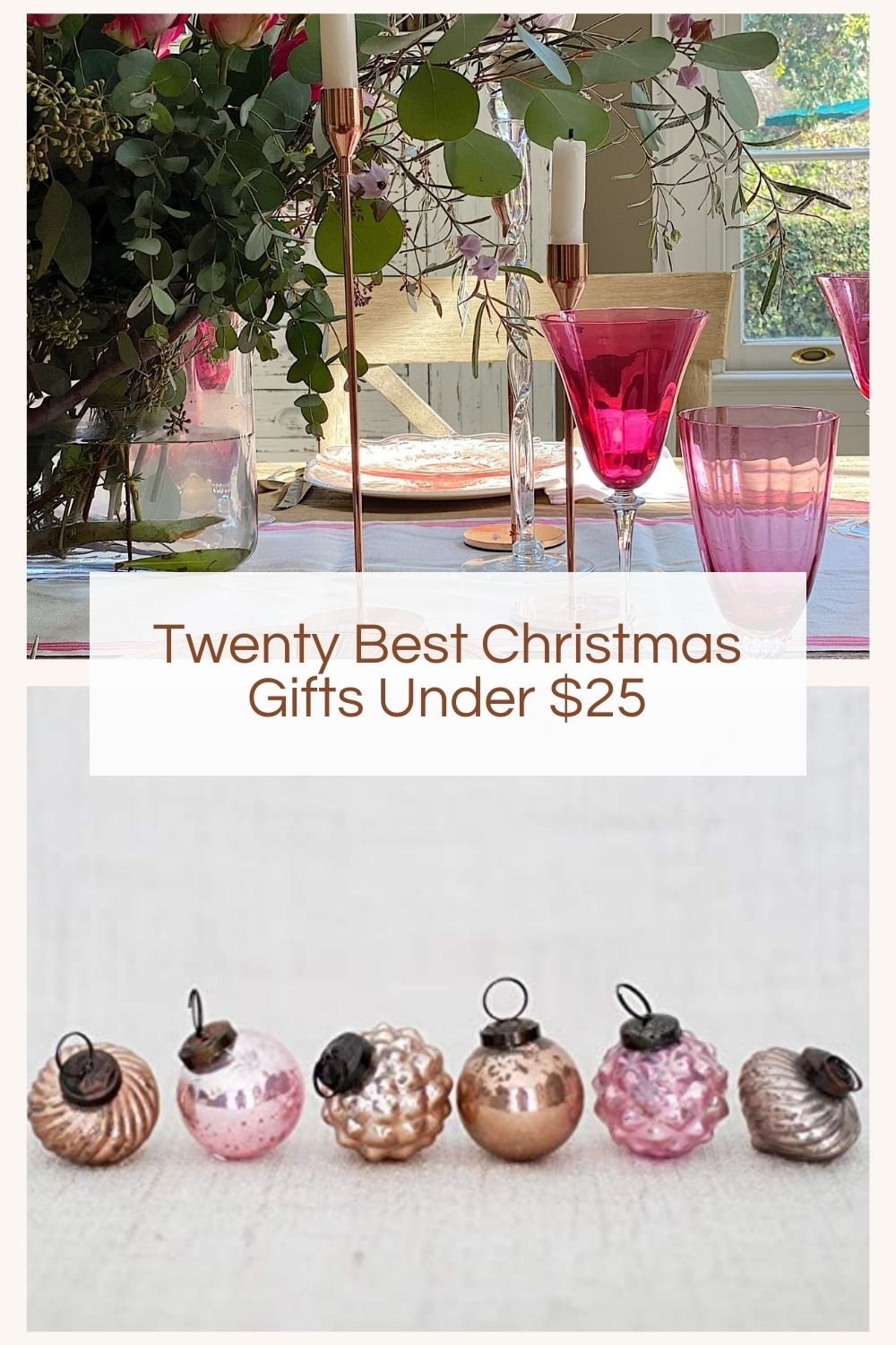 Today I am sharing my 20 best Christmas gift ideas. They are inexpensive and my favorites and gifts I think all of you might like.