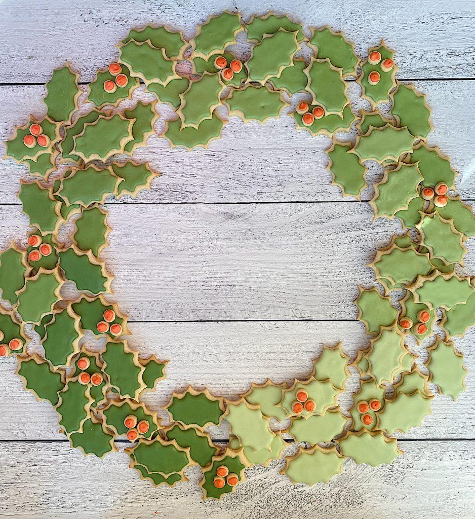 Christmas Cookie Wreath 13