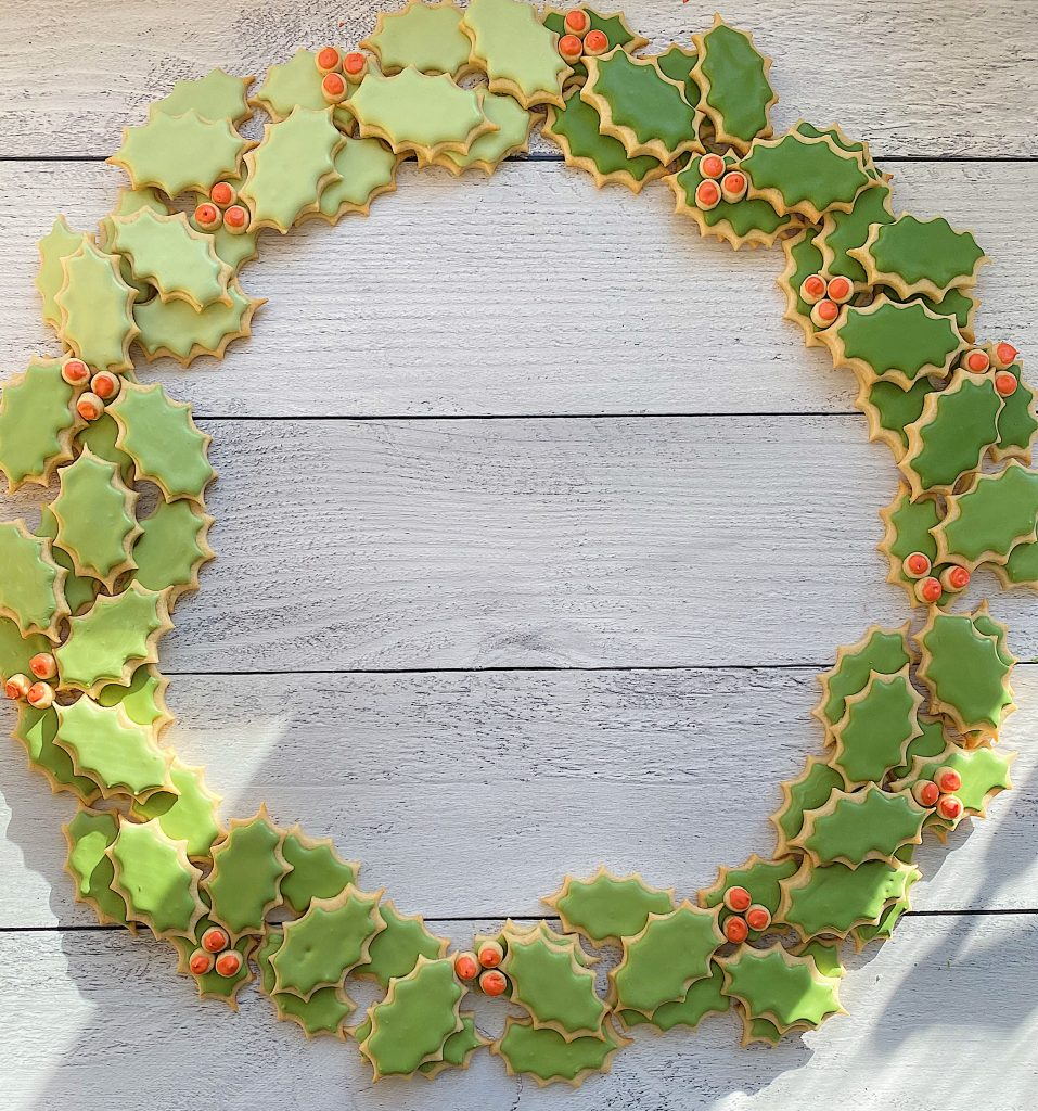 Christmas Cookie Wreath 18