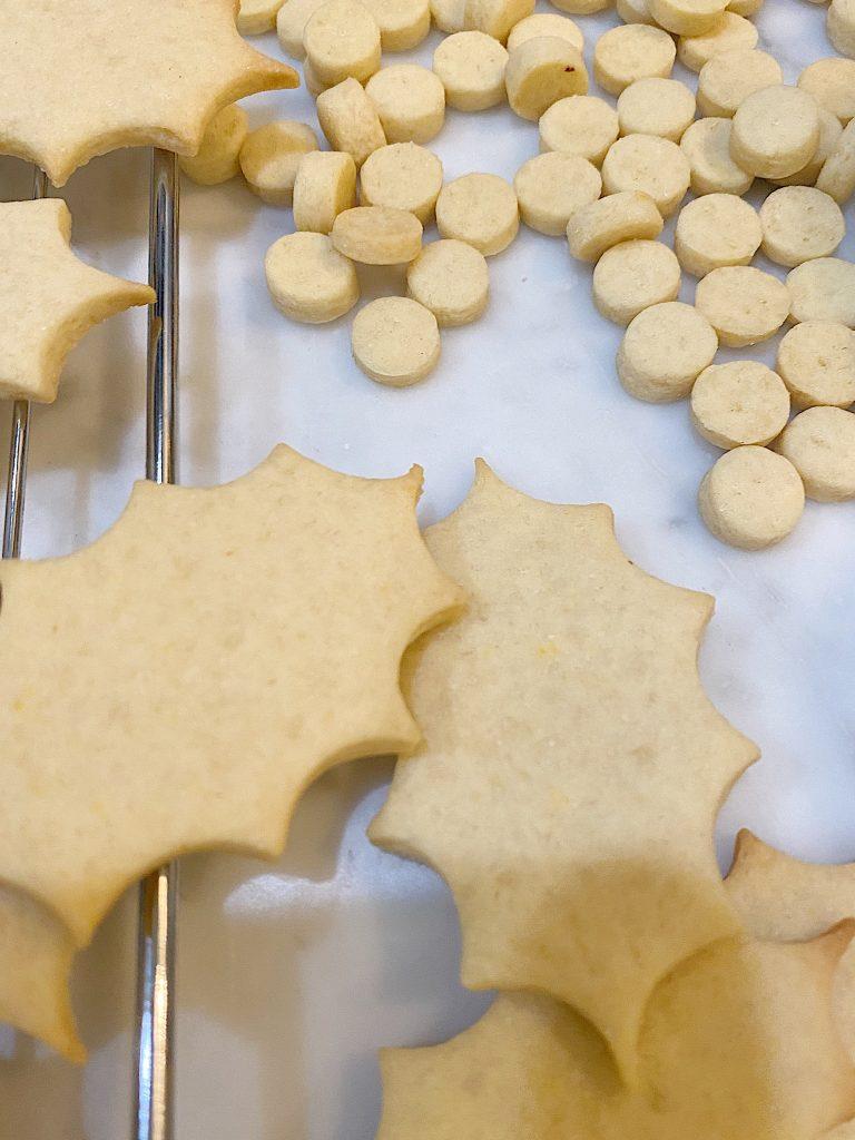 Christmas Cookie Wreath Baked Cookies
