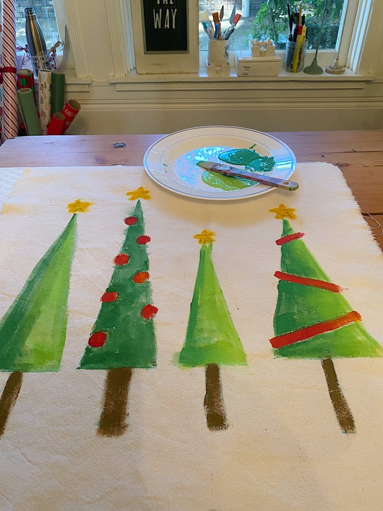 Christmas Craft DIY Pillow