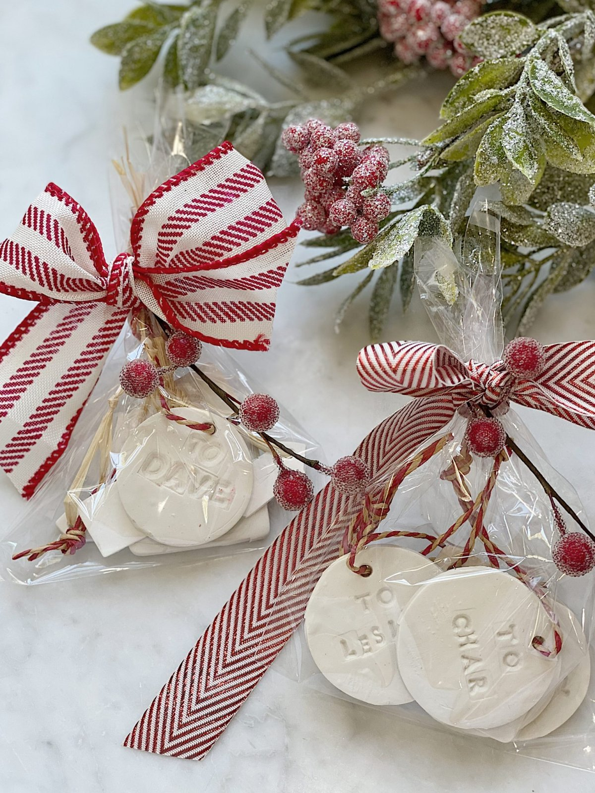 Today I am sharing one of my favorite homemade gifts. These DIY Christmas gift tags are easy to make, personalized, and very versatile.