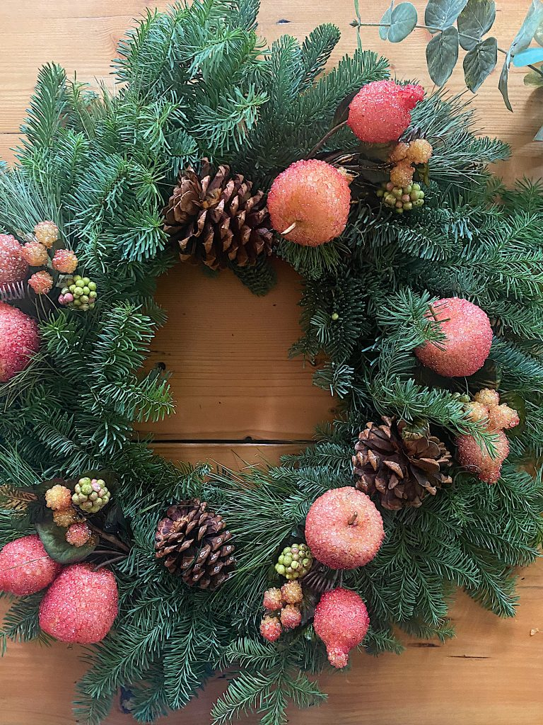 Christmas Wreath DIY
