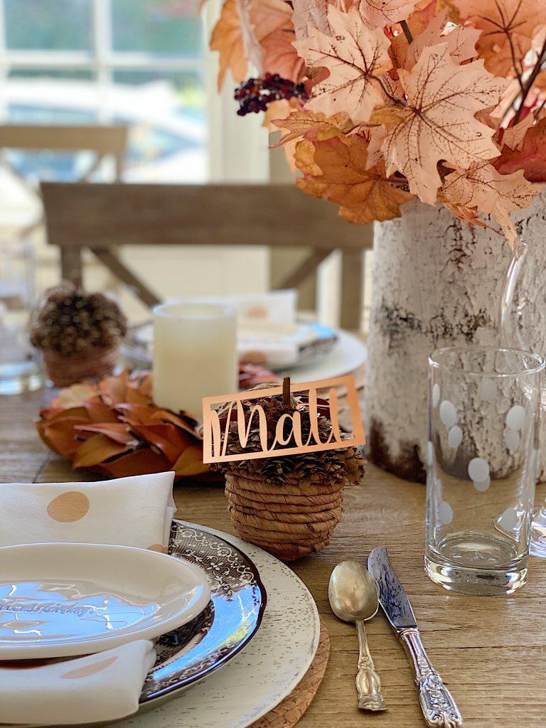 Friendsgiving Table Setting 11