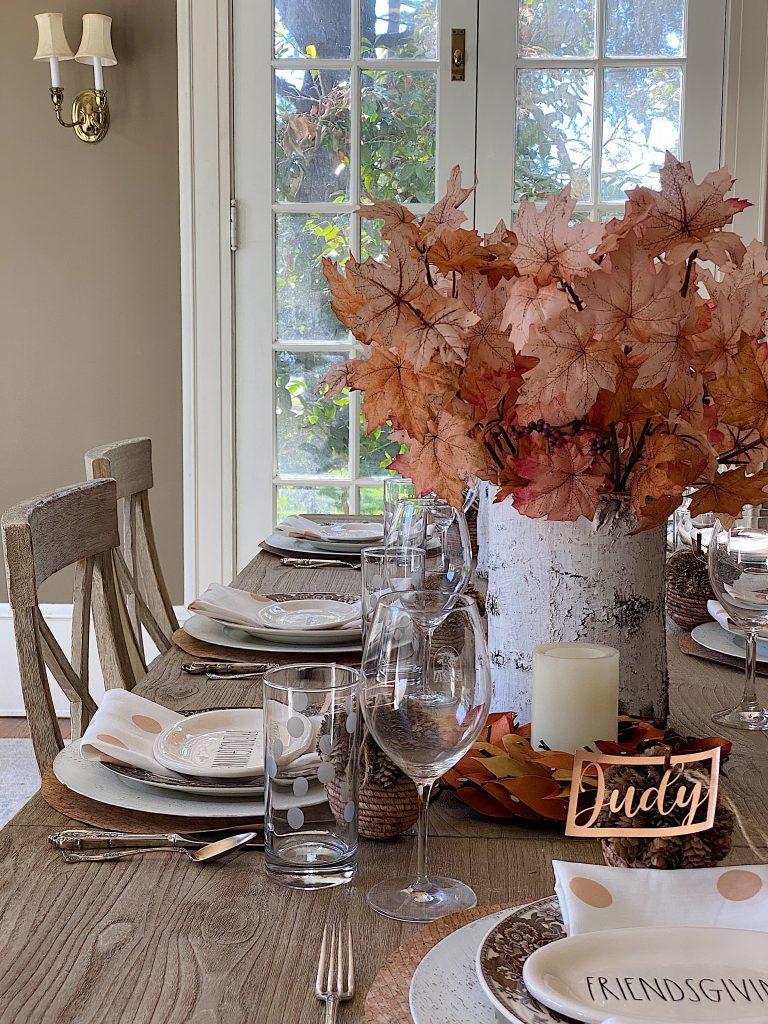 Friendsgiving Table Setting 12