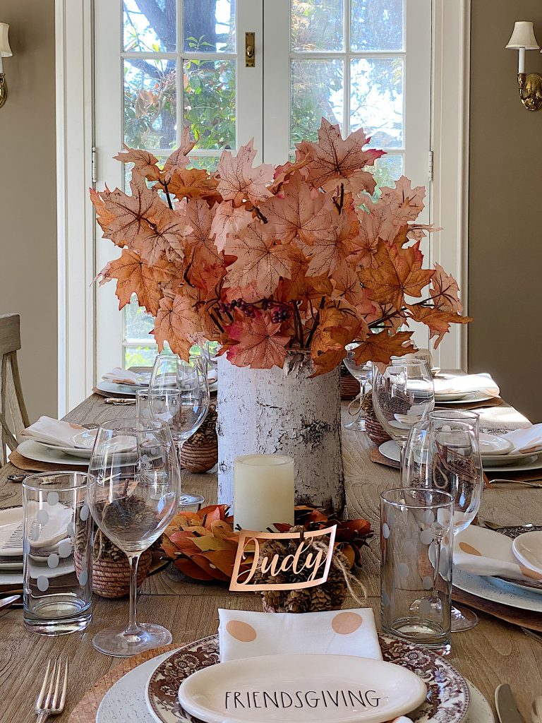 Friendsgiving Table Setting 17