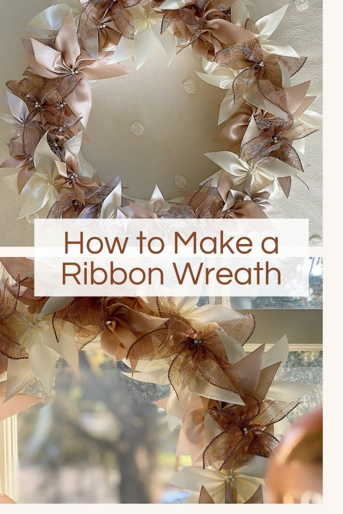 How to Make a Ribbon Wreath (1)