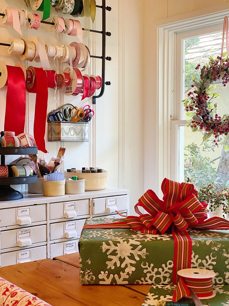How to Organize Your Gift Wrapping Room 11