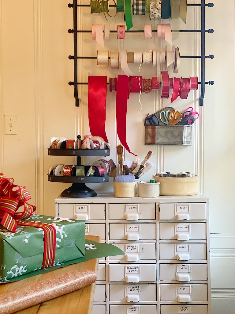 How to Organize Your Gift Wrapping Room 18