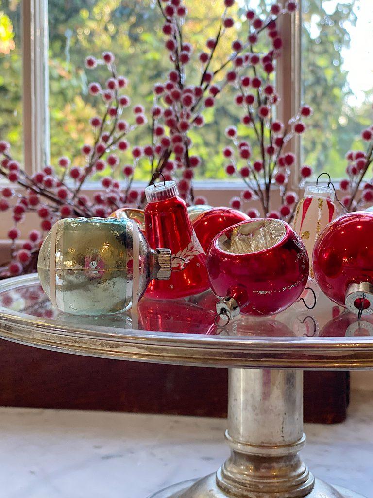 Vintage Bulbs for Christmas