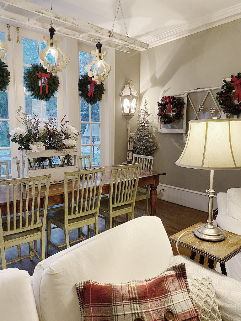 Christmas Decorating Ideas For The Family Room My 100 Year Old Home