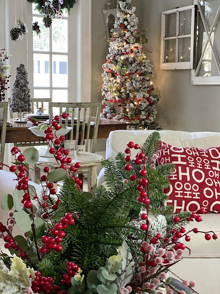 Christmas Joy with Handmade Decor