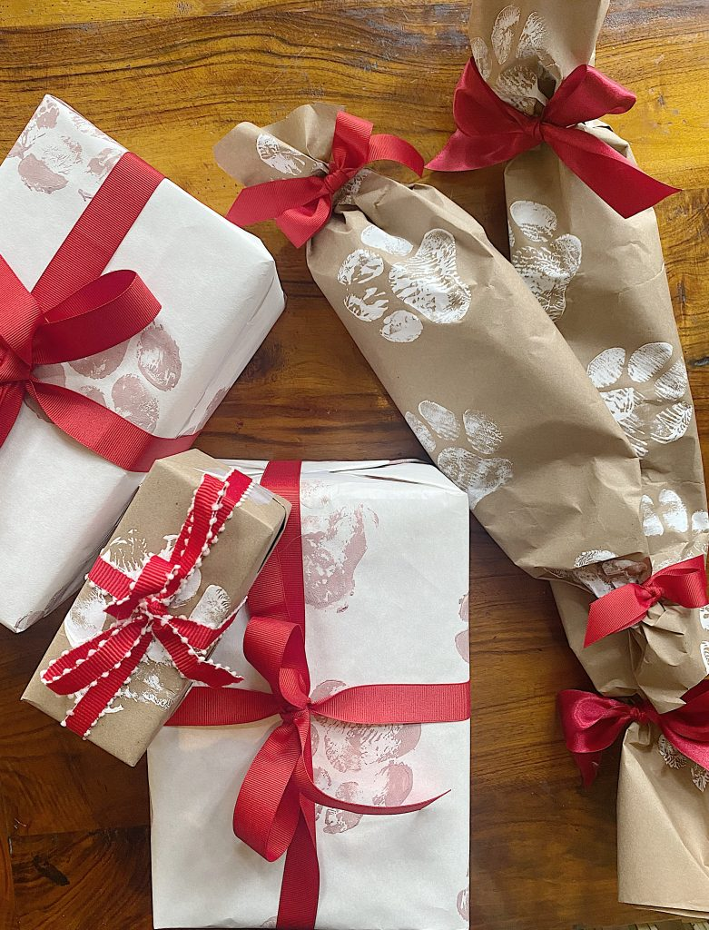 Creative Pet Gift Wrapping Ideas My 100 Year Old Home