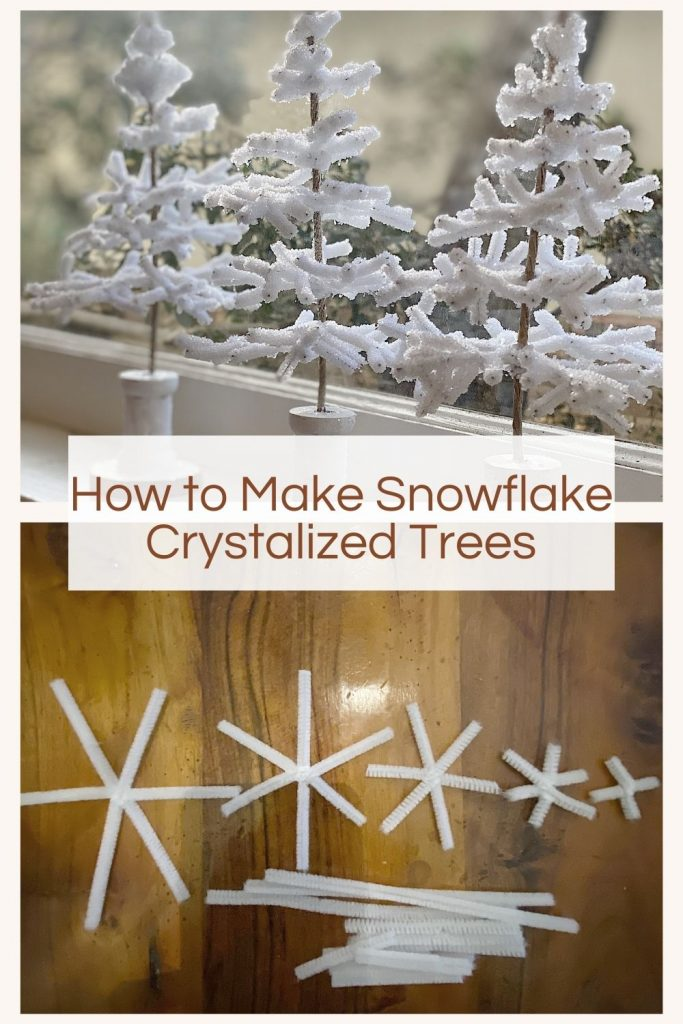 Crystalized Snowflake Trees
