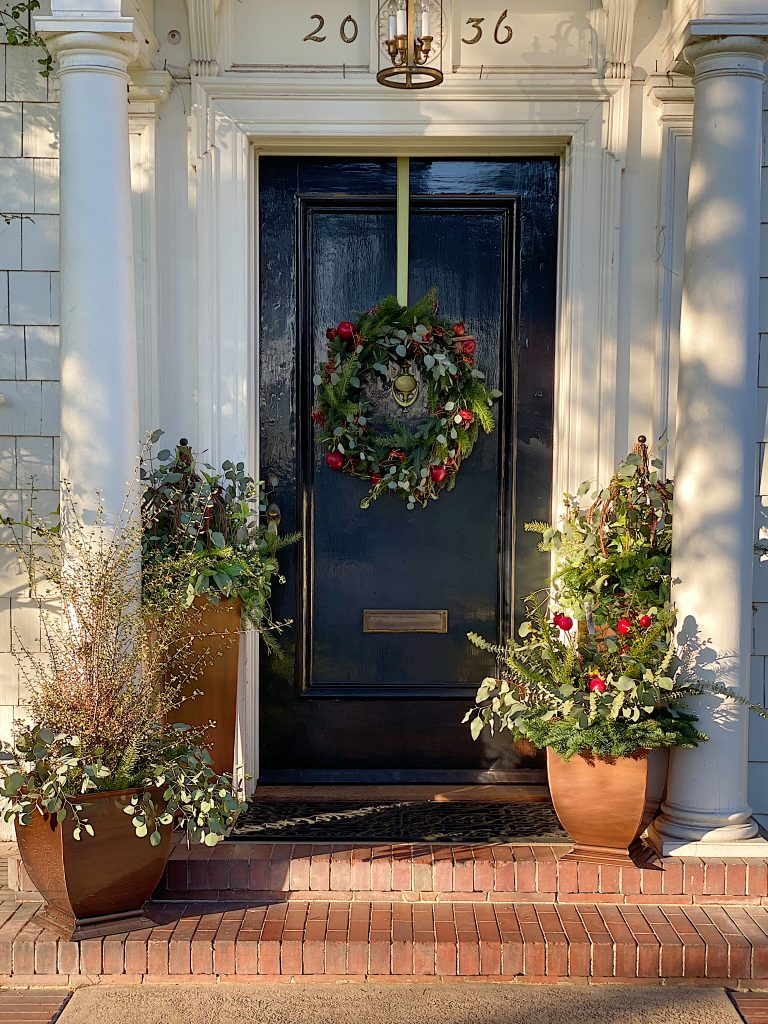 Front Porch for Christmas 24