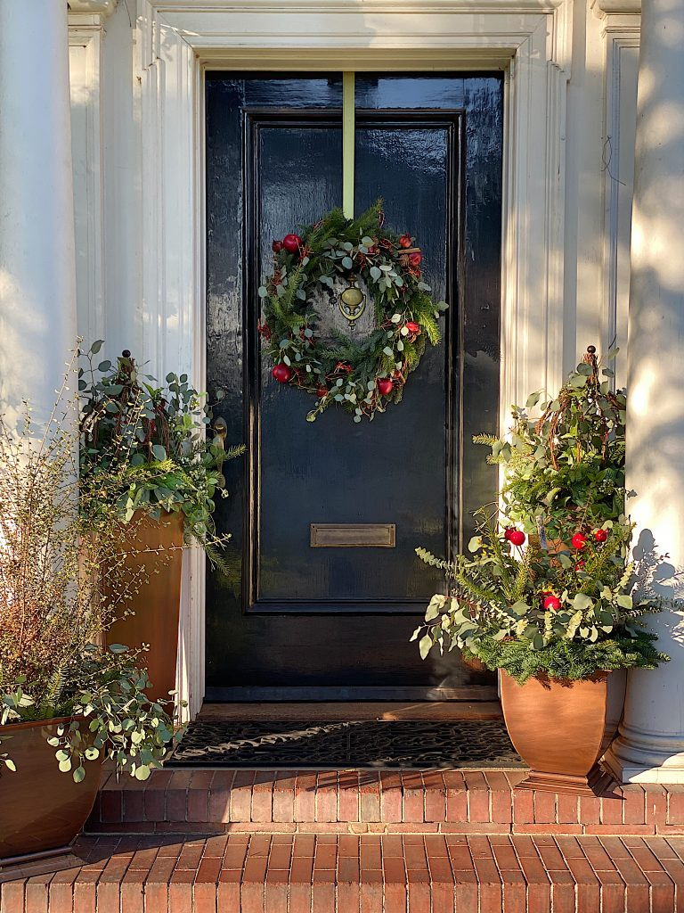 Front Porch for Christmas 25