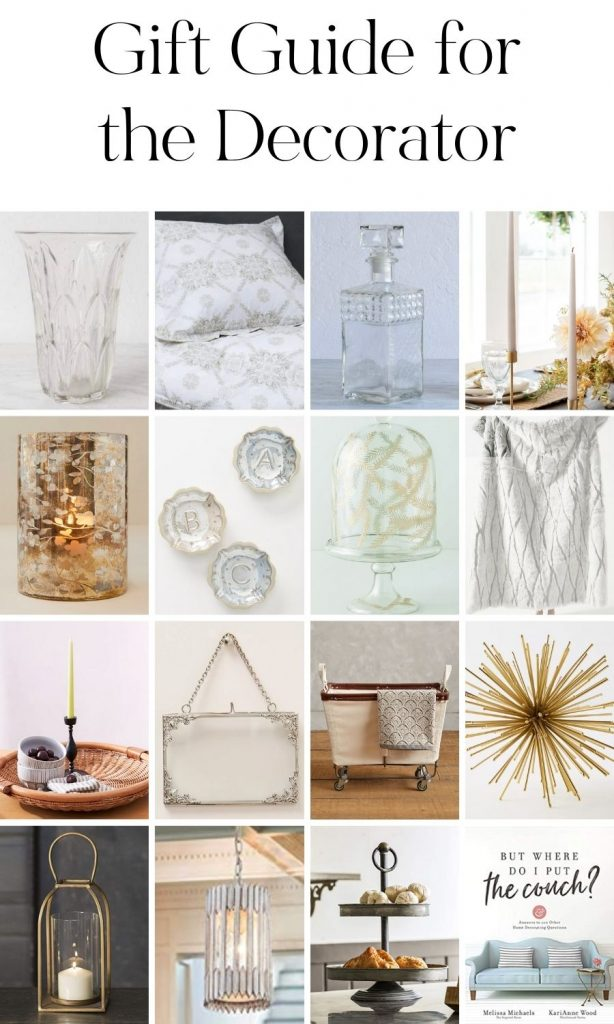 Gift Guide for the Decorator