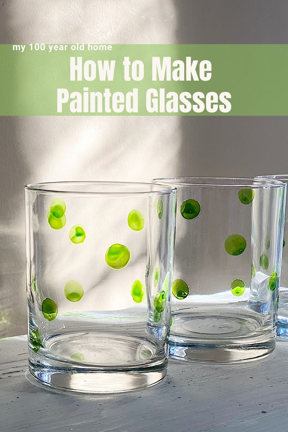 Welcome To Ten Days Of Christmas Crafting. Today I am going to share how to make painted classes.