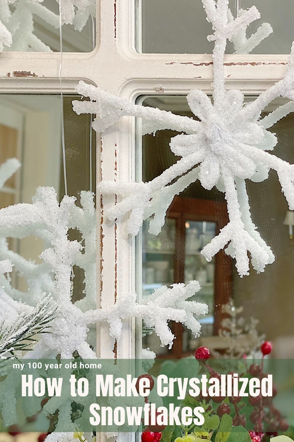 Welcome To Ten Days Of Christmas Crafting. Today We Are Making Handcrafted Crystal Snowflakes. Aren't they amazing?