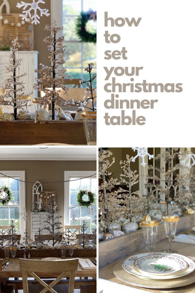 How to Set Your Christmas Dinner Table