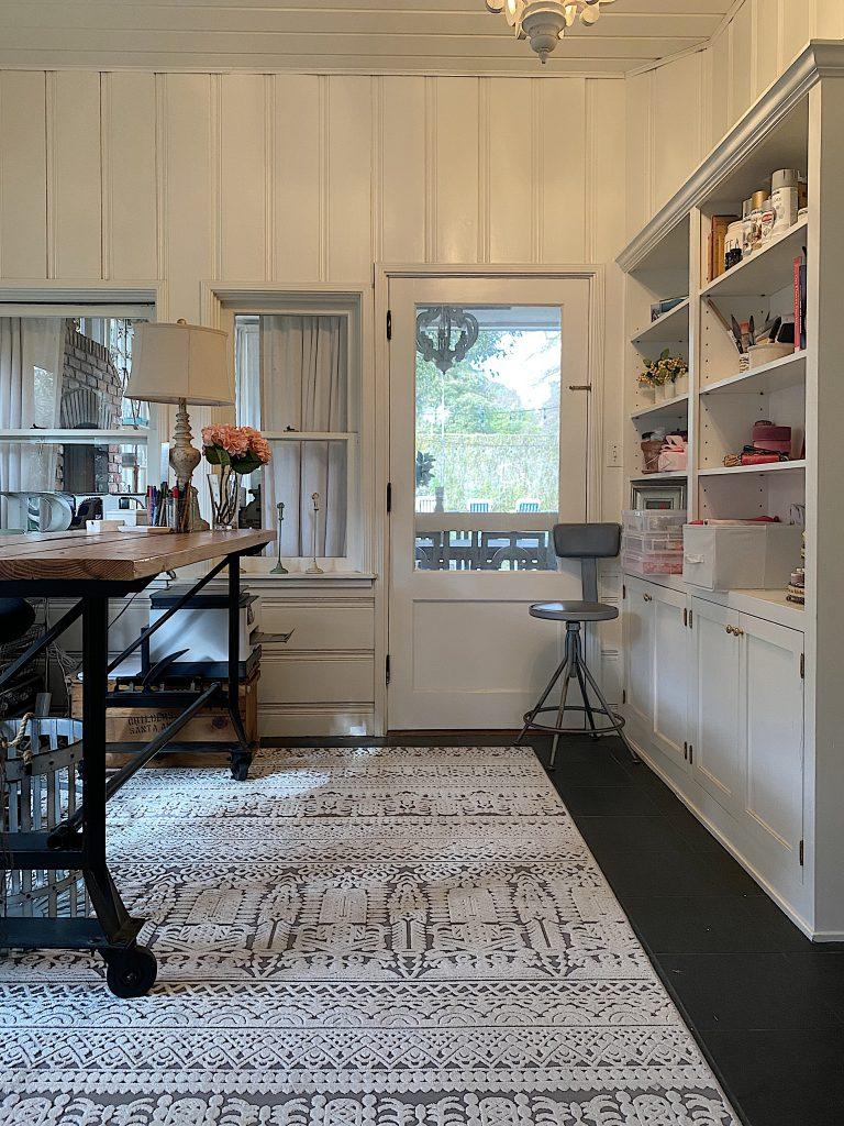After Photo Craft Room Organization