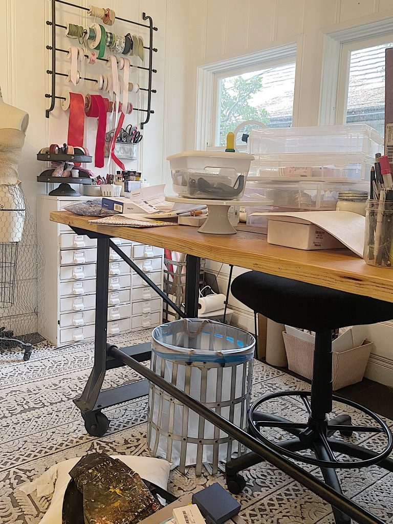 Craft Room Organization BEFORE