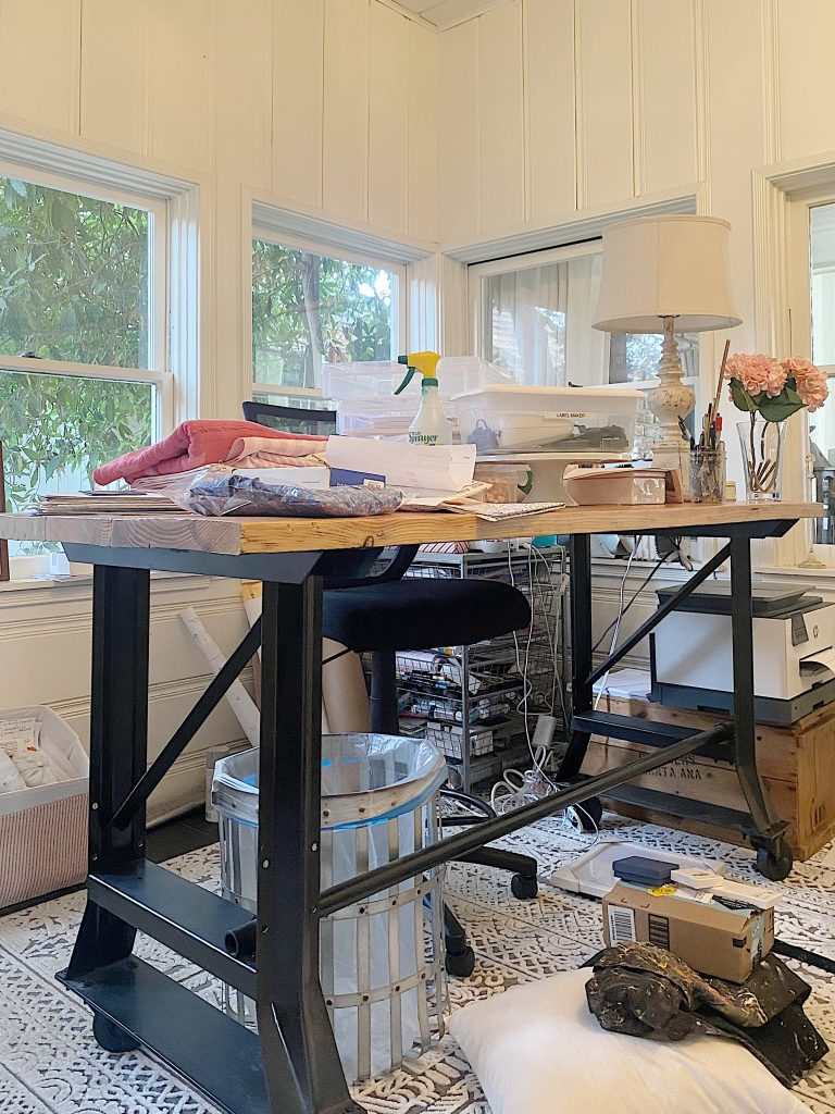 Craft Room Organization Before Photos