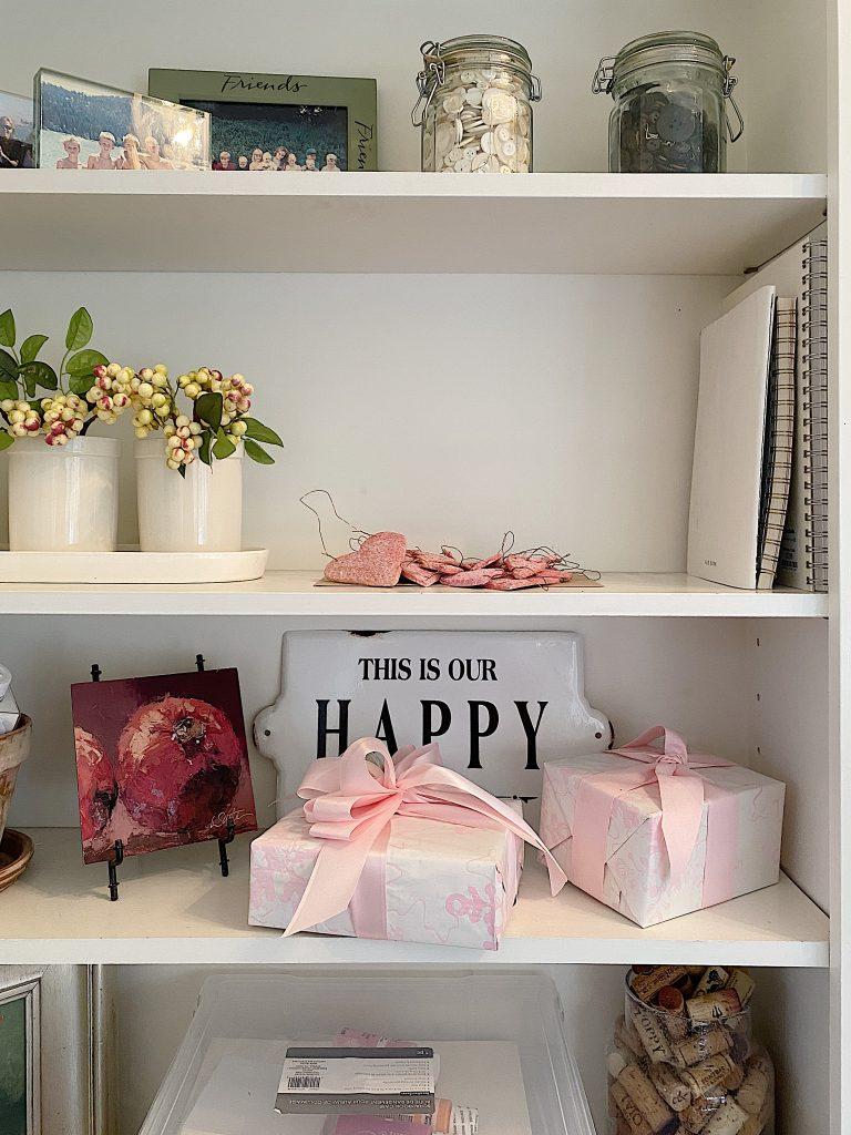 Craft Room Organization Shelves