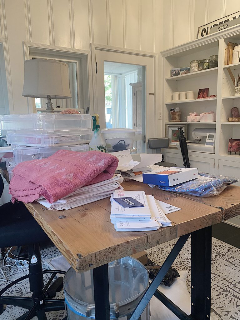 Craft Room Organization a Mess